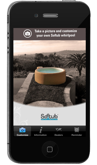Softub App for your iPhone