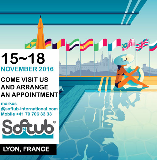 Piscine Expo Lyon 2016 15 - 18 NOVEMBER 2016